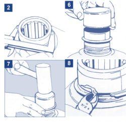 Install a Shaft Repair Sleeve